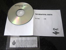 "THE BEAUTIFUL SOUTH ""THE TABLE"" RARE PRE-ARTWORK PROMO CD"