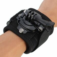 Diving Housing Case 360° Rotate Wrist Strap Band Mount For GoPro Hero 4 3+ 3 2 1