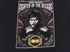 Manny Pacquiao T-Shirt Fighter of the Decade Boxing Tshirt