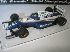 1:18 Williams Renault FW15 D. Hill 1995 rebuilt Umbau full tabacco in showcase