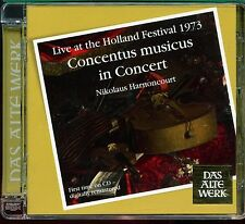 Concentus Musicus In Concert /  Live at the Holland Festival 1973