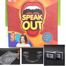 Hot Speak Out Braces Mouthpiece Board Challenge Game Mouthguard Challenge Game C