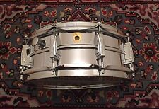 Transition Year 1969 LUDWIG LM400 SUPRAPHONIC 5x14 Snare Drum Clean