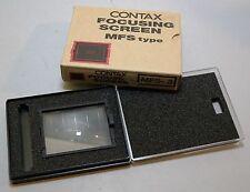 CONTAX 645 Camera MFS-3 Grid Matte Focusing Screen