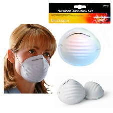 20 Disposable Dust Mask Nuisance Breathe Protection DIY White Face Covers Pack