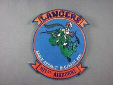 Aufnäher Patch Lancers 101st Airborne Eagle Assault B-5/101st AVN