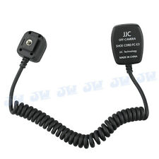 JJC TTL Off-Camera Hot Shoe Cord for Canon Flash Speedlite replaces Canon OC-E3
