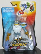 "SONIC THE HEDGEHOG  3"" ACTION FIGURE STROM ON A SKATE BOARD"