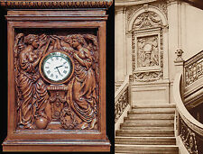 "RMS TITANIC Grand Staircase 'Honour and Glory Crowning Time"" clock"