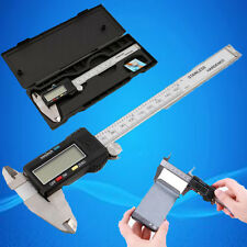 150MM Electronic Digital Calipers Veriner w/LCD Display Hard Case штангенциркуль