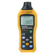 Handheld Non-Contact Digital LCD Tachometer Backlight PEAKMETER MS6208B UK R7C7
