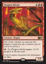 MTG Magic M15 - Shivan Dragon/Dragon shivân, French/VF