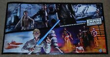 "SDCC EXCLUSIVE HASBRO  STAR WARS DUAL SIDED POSTER 30"" x 16"""