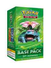 "Pokemon cards XY""20th Anniversay-Base pack :Mega Venusaur""Booster Box/Korean Ver"