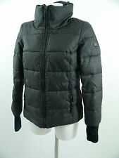 Tolle S.OLIVER QS DRESS YOURSELF Da.Winterjacke anthrazit gesteppt m.GrM WIE NEU