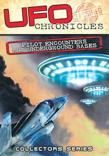 UFO Chronicles: Pilot Encounters and Underground Bases (DVD, 2014)