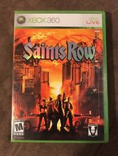 Saints Row 1 Microsoft Xbox 360 ~ Works Great! ~ Fastest Shipping! ~ LQQK