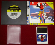 *Complete* NEC PC-Engine HuCard Game AERO BLASTERS RAID UNIT Japan Air Buster