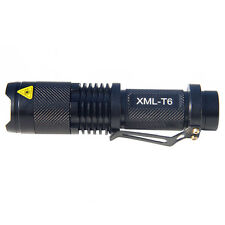 UltraFire CREE XM-L T6 5-Mode 1000lm torche LED Zoom Lampe