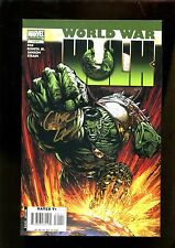 WORLD WAR HULK 1 (9.2) AUTO GREG LAND W/ COA MARVEL (s001)