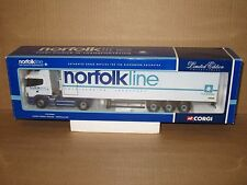 Corgi 1/50 scale CC12204 - Scania Fridge Trailer - NORFOLK LINE
