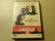 DVD / AMISTAD ( STEVEN SPIELBERG, ANTHONY HOPKINS, MORGAN FREEMAN... )