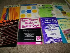 Lot of 8 sheet music books piano and chart busters Lot316
