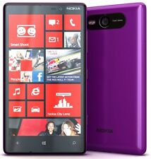 Nokia Lumia 820 Purple,Unlocked Quadband Camera,Wifi,Bluetooth.Windows Phone