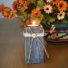 Driftwood Candle Holder Decoration Centerpiece Natural Post Tealight Rustic Chic