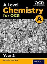 Level Chemistry A For Ocr Year 2 Student Book Gent  Dave 9780198357650