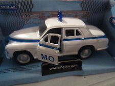WELLY MODELL WARSZAWA 224 MO WEISS Welly Modell PRL Auto 1:34-39 NEU & OVP