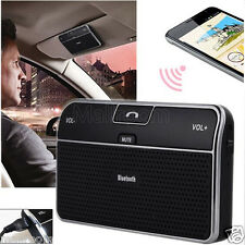Car Kit Clip Hands free Multipoint Wireless Bluetooth 4.0 Speakerphone Speaker