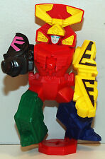 "2011 Megazord 4"" McDonalds Samurai #5 Action Figure Power Rangers"