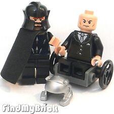 M741 Lego Custom X-Men Magneto & Custom Professor X  Minifigures - Black V - NEW