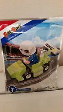 BanBao Green Racecar With 1 Racecar Driver Building Set (42-Pieces) NEW IN BAG