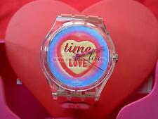 SWATCH SPECIAL S. VALENTINE TIME FOR LOVE - GK293PACK - 1999 - NEW + PILA