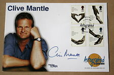 HEALTH SERVICE 1999 AUTOGRAPHED EDITIONS FDC SIGNED CASUALTY ACTOR CLIVE MANTLE