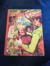 ROBIN HOOD AND HIS MERRY MEN. EARLY READER SERIES 28. HAMPSTER BOOKS. 1950S