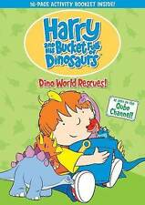 Harry & His Bucket Full Of Dinosaurs: Dino-World R (2014, DVD New) FS