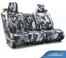 NEW Full Printed Traditional Urban Camo Camouflage Seat Covers / 5102046-06
