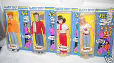 #7620 NRFC Vintage Marx the Archies Archie, Jughead, Veronica & Betty Dolls