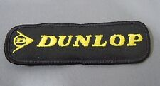 """DUNLOP Embroidered Iron On Uniform-Jacket Patch 4 3/4"""" x 1 1/2"""""""
