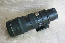 NIKON ED AF-S-VR-Nikkor 70-200mm1:2.8G + walimex 77mm UV