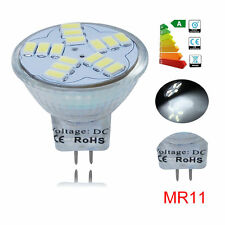 6x MR11 GU4 4W Ultra Bright LED Bulb Energy Saving Wide Beam Angle Light D White