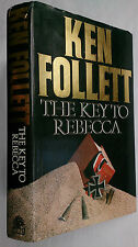 KEN FOLLETT.THE KEY TO REBECCA.1ST/1 H/B,B/C EDITION 1980.CAIRO,ROMMEL,AFRICA