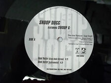 Death Row Records LP Record Snoop Doggy Dogg Swoop G  DJ Radio Promo 12""