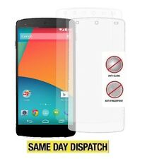 6 X LG GOOGLE NEXUS 5 Anti-Glare Matte Screen Protectors Film Cover & Free Cloth