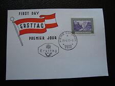 AUTRICHE - carte 1er jour 28/6/1972 (cy29) austria
