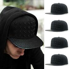 Fashion Unisex Star Design Baseball Cap Hip hop Hat Adjustable Flat-brimmed Hat