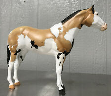 Breyer OOAK Rare Coloration Buckskin Tri-Colored American Paint Horse